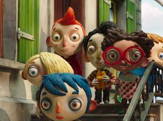 This powerful stop-motion animated movie was nominated for an Oscar and it's easy to see why