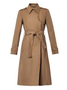 Ashling cotton trench coat, Theory