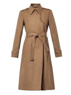 Ashling cotton trench coat, Theory
