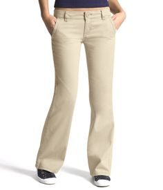 I've been wanting some khaki pants but the navy blue ones are also super cute