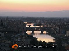Ponte Vecchio Photo | Views from Piazzale Michelangelo - Florence Pictures & Photos