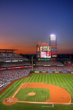 The Sunset was the Best Part of the Game. I'd love to see a baseball game in the new stadium.