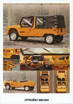 Citroen Mehari. Like a 2CV but made for outdoors people.