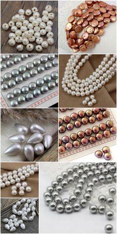 Perły to synonim bogactwa i elegancji. Każda kobieta powinna mieć w swej biżuterii naszyjnik z pereł lub choćby delikatne kolczyki z perełkami. W naszym sklepie znajdziesz duży wybór różnych pereł hodowlanych. Dostępne są perły okrągłe w różnych kolorach i wielkościach. Ostatnio pojawiły się rzadko spotykane na rynku, perły z dużą dziurą do nawlekania na rzemień czy sznurek. Ponadto kupisz u nas perłowe krople i kaboszony, które z powodzeniem wykorzystasz do zrobienia kolczyków typu sztyft.