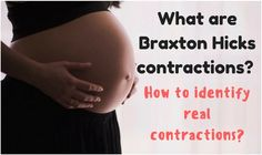 What are Braxton Hicks contractions and how do they differ from real contractions? via @janesheeba