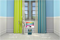 Toodler's Potty & Curtains Recoloredrecolored in Pixeldot's Palette Compilation.  More Info + Download below.  [[MORE]]• recolored in 22 colors (pixeldot's palette compilation)  • curtains only with stripes!  • standalone  • swatches are sorted  • requires...