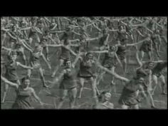 Rammstein - Stripped (official video)  (not from the 80s, but just for the heck of it, and because I LOVE Rammstein... this is their 1998 cover of Depeche Mode's 1986 Stripped... This is Rammstein and it's awesome! - There's also an uncensored version remixed by Charlie Clouser --- this video contains nudity... as in naked Greek Olympic games.  The uncensored remix on YouTube may be offensive because it contains Nazi footage.)