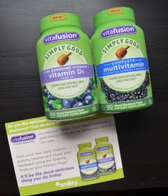 Free sample of Vitafusion vitamins from Smiley360 #freesample