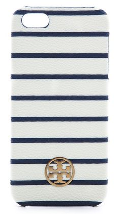 Tory Burch Robinson print iPhone 5 case.