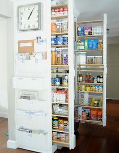 Spatii de depozitare ascunse in bucatarii - Fresh Home