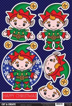Buzzcraft Christmas Cut & Create - Cheeky Elf
