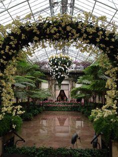 Longwood Gardens one of my favorite places to go! Love the water floor