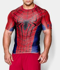 Men's Under Armour® Alter Ego Spider-Man Compression Shirt | Under Armour US