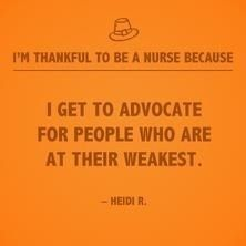 'Tis the season to be thankful, and take time to recognize all of the reasons nursing is not only a career, but a gift. Why are YOU thankful to be a nurse? Oncology Nursing, Nursing Career, Nursing Tips, Nursing Programs, Funny Nursing, Nursing Memes, Nursing Profession, Career Quotes, Nurse Quotes