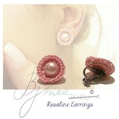 Life is too short to wear mass produced jewelry..CHOOSE HANDMADE  #earrings #crochet #pearl #rodaline #boisderose #handmade #jewelry #accessories #woman #fashion #handmadeaccessories #Bymee #bymeecreations #lebanesedesigners #beirut #lebanon