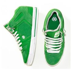 Bright green sneaks from Boathouse