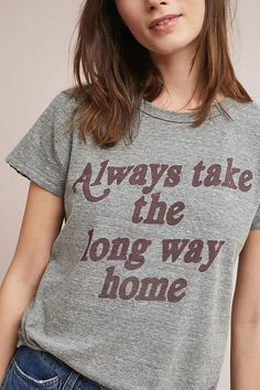 07d867f4ab2 Long Way Home Graphic Tee