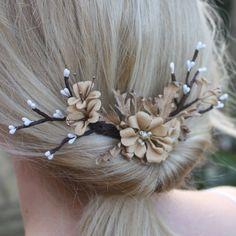 Twiggy Blossom Haircomb