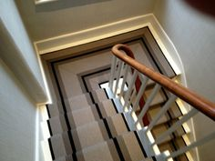 My all-time favourite staircase runner Staircase Runner, Staircase Ideas, House Stairs, Bedroom Storage, Old Houses, Sweet Home, Design Ideas, House Design, Homes