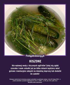 Polish Recipes, Seaweed Salad, Cool Gadgets, Deli, Fun Facts, Life Hacks, Food Porn, Food And Drink, Cooking Recipes