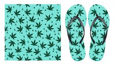 Light seamless pattern with cannabis lea... | Premium Vector #Freepik #vector #pattern #leaf #seamless-pattern #shoes Marijuana Leaves, Vector Pattern, Pattern Design, Bookmarks, Grass, Flip Flops, Label, Abstract