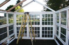 Going 'Green' House – Building a Green House out of Recycled Materials