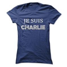 Je Suis Charlie Shirts Blue Ladies T-Shirts, Hoodies, Sweatshirts, Tee Shirts (19$ ==► Shopping Now!)