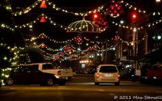 Downtown Goldsboro, NC during Christmas ~ Love this!