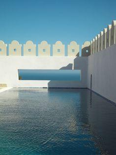 Piscine Maroc  www.decoration-architecture.fr