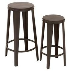 $111 2-Piece Yorke Stool Set