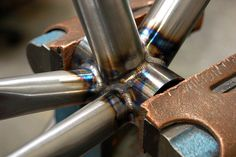 BB post weld, SP Randonneur Project by MAP Cycles, via Flickr