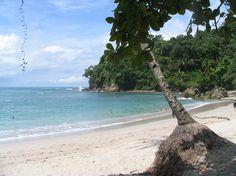 Es La Playa de Parque Nacional Manuel Antonio. Está en Parque  Nacional Manuel Antonio, Cost Rica. Se puede pasear en la playa y descansar.