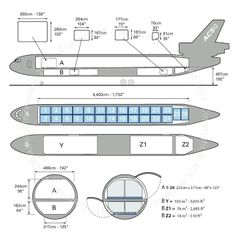 Boeing MD 11F freighter diagram (ACS http://www.aircharterservice.com/)