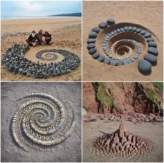 Ephemeral Art, Cozy Backyard, Pebble Mosaic, Mosaic Patterns, Stone Art, Rock Art, Landscape Art, Altered Art, Garden Art