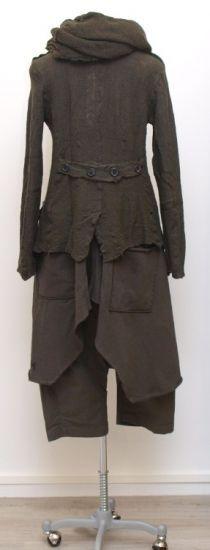 rundholz dip - Trägerkleid Heavy Sweater paint filz - Winter 2015 - stilecht - mode für frauen mit format...