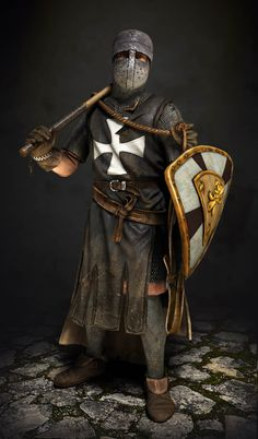 A Black Templar or as they were known back in the day a Knights Hospitaller.