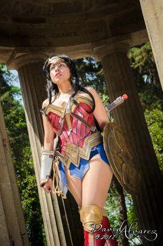 Wonder Woman Cosplay by: Gigi Chan Cosplay
