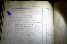 This photo shows an itemized list of expenses believed to be from the 1882 funeral of Mary Todd Lincoln at the Boardman-Smith Funeral Home in Springfield, Ill.(Rich Saal/The State Journal-Register via AP)