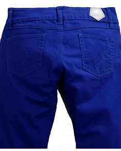 Tin Haul Womens Dolly Celebrity Colored Denim Bootcut Jeans Royal 31 S *** Details can be found by clicking on the image.