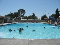 going to the plunge when is was summer! PEAK PARK in Buena Park,CA