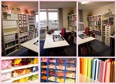 Craft room tour/storage