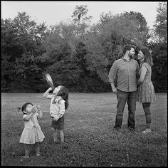 THE CUDZILO FAMILY ON FILM . THE IMAGE IS FOUND