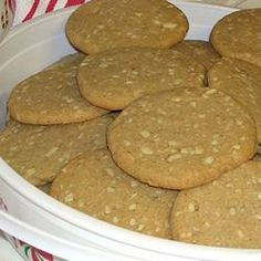 Wainachsrollen--This recipe tastes similar to the windmill cookies that they used to sell in our grocery store.  Allrecipes.com