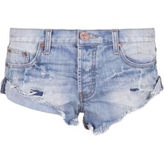 One Teaspoon Bandits Shorts in Blue Jack as seen on Taylor Swift