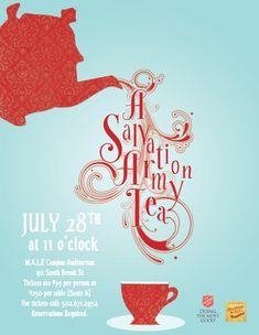 A Salvation Army Tea