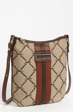 Longchamp  LM Jacquard  Crossbody Bag  d3698ce63b08