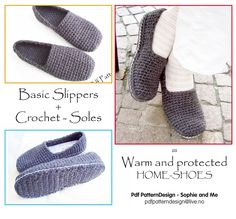 Ravelry: CROCHET SOLES ANY SIZE CUSTOMIZED by Sophie and Me-Ingunn Santini