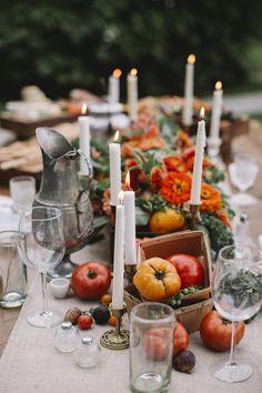 Harvest Tablescape | Philadelphia Wedding Photography