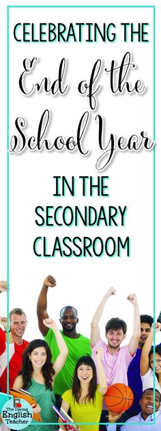 Celebrating the end of the school year in the secondary classroom is fun. Help your middle school and high school students remember the year with these fun and memorable activities.