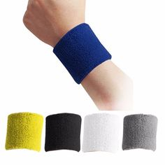 Sports & Entertainment Wrist Support Hard-Working Running Badminton Sweatband Wrist Arm Band Bag With Pocket Cotton Zipper Sport Wristband Gym Fitness Wrist Support Straps Wraps